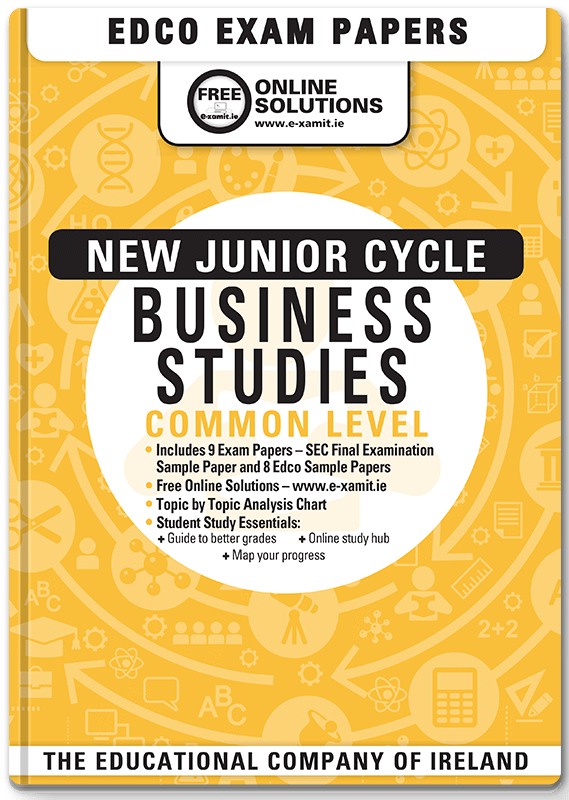 Business Studies Junior Cert Common Level Sample Exam Paper